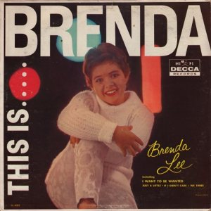 LEE, BRENDA DECCA LP 4082 A
