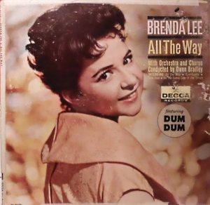 LEE, BRENDA DECCA LP 4176 A