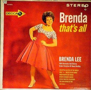 LEE, BRENDA DECCA LP 4326 A