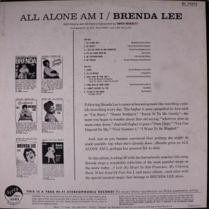 LEE, BRENDA DECCA LP 4370 B