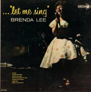 LEE, BRENDA DECCA LP 4439 A