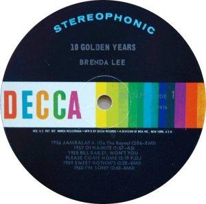 LEE, BRENDA DECCA LP 4757 E