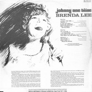 LEE, BRENDA DECCA LP 75111 B