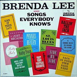 LEE, BRENDA DECCA LP 8873 A
