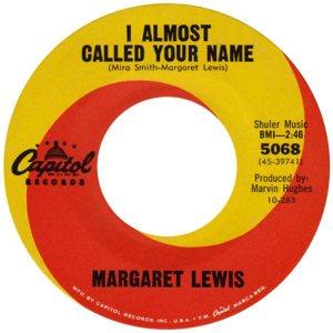 LEWIS MARGARET 63 B