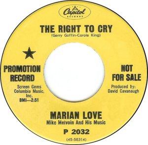 LOVE MARIAN - 67 A
