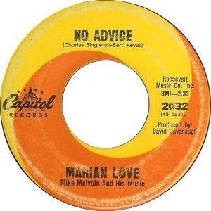 LOVE MARIAN - 67 B