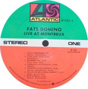 LP ATLANTIC 81751 DOMINO C