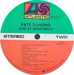 LP ATLANTIC 81751 DOMINO D