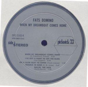 LP PICKWICK 3165 DOMINO C