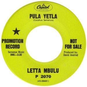 MBULA LETTA 68 A