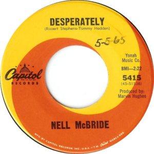 MCBRIDE NELL 65 B