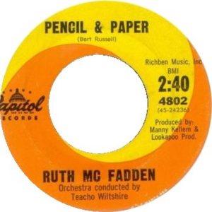MCFADDEN RUTH 62 B