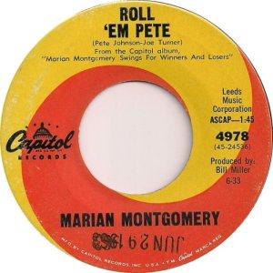 MONTGOMERY MARIAN 63 B