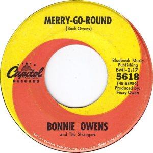 OWENS BONNIE & STRANGERS 66 B