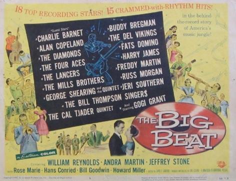 POSTER BIG BEAT 1958