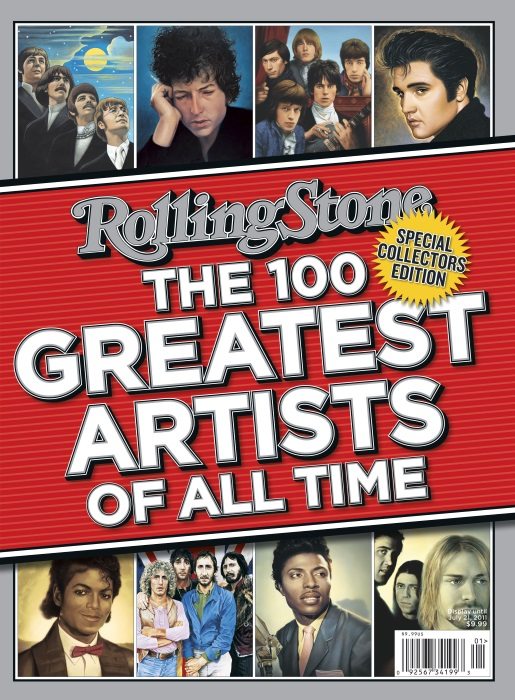 ROLLING STONE 100 GREATEST ARTISTS