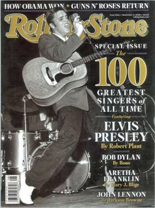 ROLLING STONE 100 GREATEST SINGERS