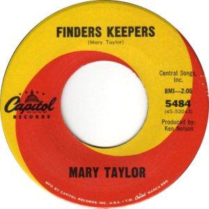 TAYLOR MARY 65 C