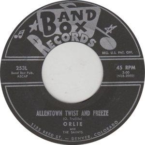 BAND BOX 253 - ALLENTOWN TWIST & FREEZE A
