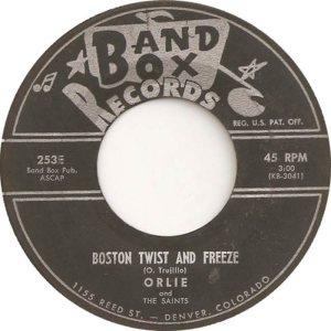 BAND BOX 253 - BOSTON TWIST & FREEZE A