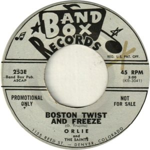 BAND BOX 253 - BOSTON TWIST & FREEZE DJ A