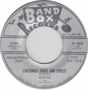 BAND BOX 253 - CINCINNATI TWIST & FREEZE A DJ