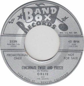 BAND BOX 253 - CINCINNATI TWIST & FREEZE A DJ