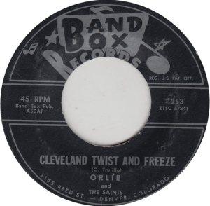BAND BOX 253 - CLEVELAND TWIST & FREEZE VA