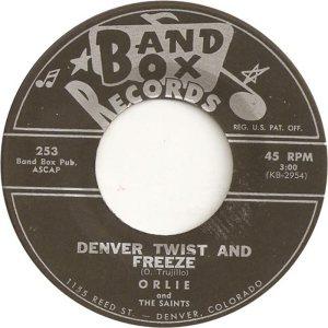 BAND BOX 253 - DENVER TWIST & FREEZE A