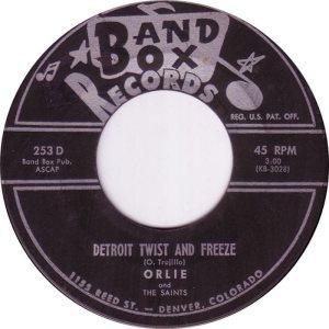 BAND BOX 253 - DETROIT TWIST & FREEZE A