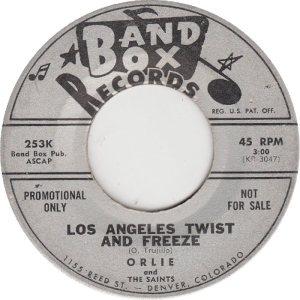 BAND BOX 253 - LOS ANGELES TWIST & FREEZE DJ (1)