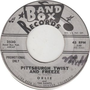 BAND BOX 253 - PITTSBURGH TWIST & FREEZE DJ A