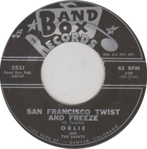 BAND BOX 253 - SAN FRANCISCO TWIST & FREEZE A