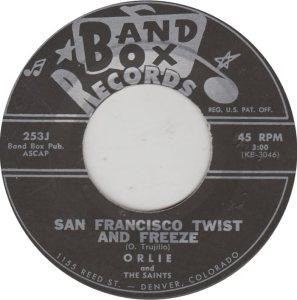 BAND BOX 253 - SAN FRANCISCO TWIST & FREEZE A