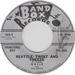 BAND BOX 253 - SEATTLE TWIST & FREEZE DJ A
