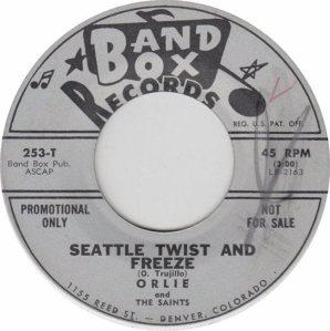 BAND BOX 253 - SEATTLE TWIST & FREEZE DJ A