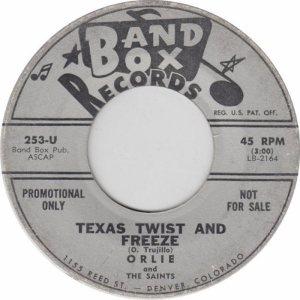 BAND BOX 253 - TEXAS TWIST & FREEZE DJ (1)