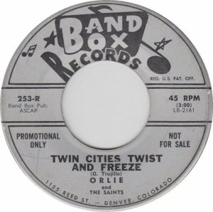 BAND BOX 253 - TWIN CITIES TWIST & FREEZE A DJ