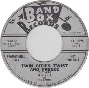 BAND BOX 253 - TWIN CITIES TWIST & FREEZE A DJ