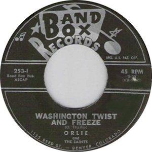 BAND BOX 253 - WASHINGTON TWIST & FREEZE A