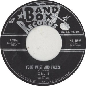 BAND BOX 253 - YORK TWIST & FREEZE A
