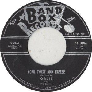 BAND BOX 253 - YORK TWIST & FREEZE A