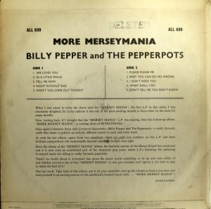 BILLY PEPPER & PEPPERPOTS - ALLEGRO 689 (2)