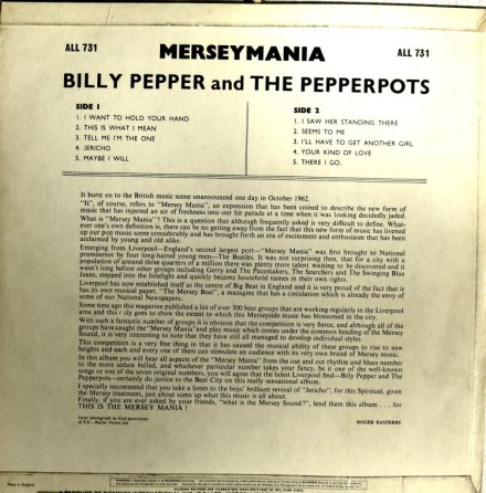 BILLY PEPPER & PEPPERPOTS - ALLEGRO 731 (2)