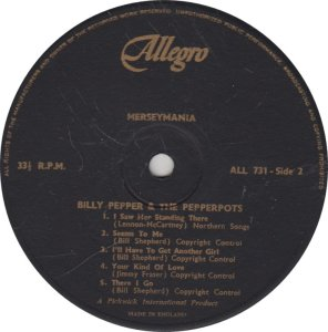 BILLY PEPPER & PEPPERPOTS - ALLEGRO 731_0001
