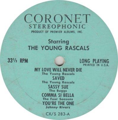 BUGGS & RASCALS - CORONET 283