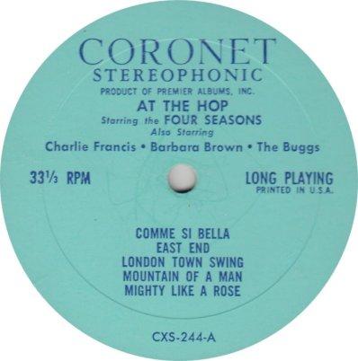 BUGGS & SEASONS - CORONET 244