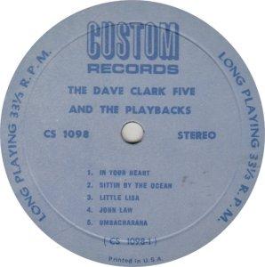 CLARK FIVE DAVE - CUSTOM 1098_0001