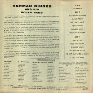 DANCE - DINGES HERMAN - VAB 66 B